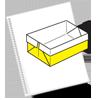 Оригами схема коробочка